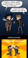 SPN 4x01 Great Expectations by blackbirdrose