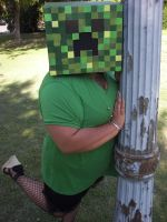 Minecraft Creeper Cosplay by Faemazing