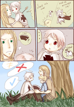 APH: Germania and his kids by Assby