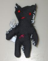 Cuddly Demon Plushie by antinonconformist