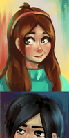 Mabel and Robbie by ForeverSoaring