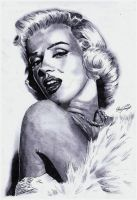 Marilyn Monroe by Exenity