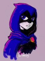 Raven by ScribbleBug