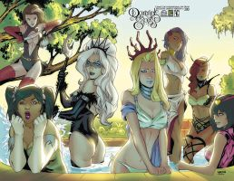 Damsels In Excess SDCC Exclusive by Arciah