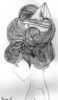My Hair is a mess by ViviMaslow