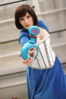 Booker...Catch!!  - Elizabeth Cosplay by Kawaii-Kioko