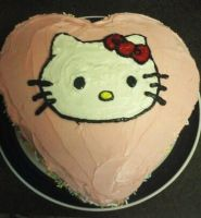 Hello Kitty Cake - View1 by Kikyo5622