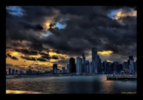 Chicago Rain Clouds by paulsaini