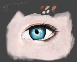 Eyes Study by skysdlimit