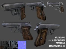Walther PPK Textured by teenagephoenix