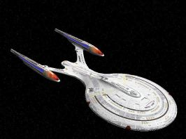 USS Enterprise NCC-1701-F by Lambda-Omega