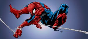 Spidey by Bobbett colors by gz12wk