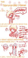 Narutard meme 8DDD by Kumagorochan