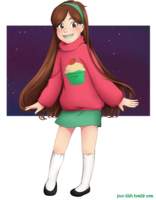 Gravity Falls - Mabel by feshnie