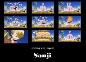 Sanji's cooking style by terielle