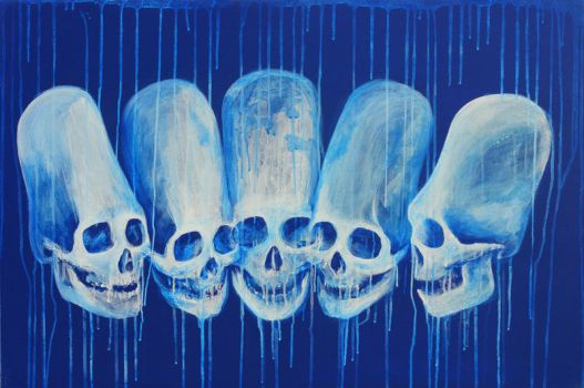 Paracas Elongated Skulls by quartertofour