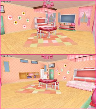 Project Diva F 2nd: Girl's Room by haoLink