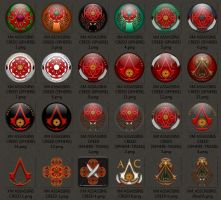 ASSASSIN'S CREED ICONS by xenomorph1138