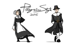 Pilgrim Style '15 by theTieDyeCloak