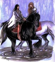Riding by ethnewinter