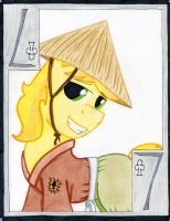 The Committed Seven of Clubs: Braeburn by The1King
