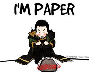 In which Loki seduces a rock...
