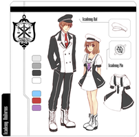 [ Resources ] Academy Uniforms by akiicchi