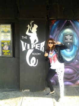 Outside of the Viper Room by rainwatersky
