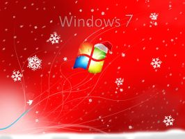 Windows 7 Christmas Wallpaper by atty12