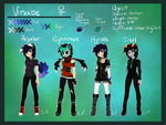 :Human Vinabe: Reference Sheet 2014: by Vinabe
