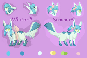 Glaceon!Seoul: a reference by Seoul-Dew