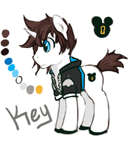 Key Quick Reference by The-Keyblade-Pony