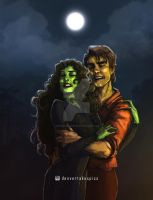 ELPHABA and FIYERO by MonsieurDenvoir