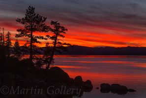 East Shore Sunset131117-50 by MartinGollery