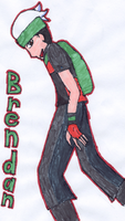 Brendan for DarkEmbrace219 by ZuzuTheMudkip