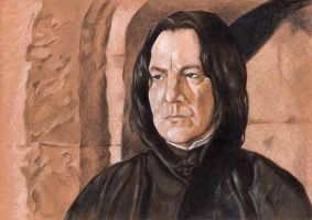 Snape Portrait by BhattiGal