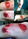fake wounds by marmarlaid