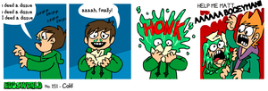 EWCOMIC No.151 - Cold by eddsworld