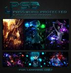 PSD Pack #4 by Madam-Mannal
