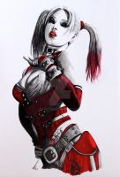Harley Quinn by salt25