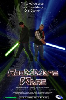 RoomMate Wars Poster by MrRender