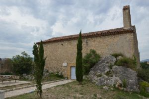 ST BARTHELEMY CHAPEL to MONTAUROUX village by A1Z2E3R