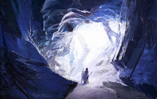 Cave // study by mittilla