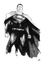 Superman Sketch 2 by rafaelalbuquerqueart
