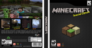 Minecraft - Full Box Art by xZippy