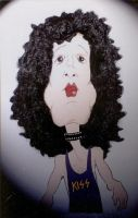 Paul Stanley Caricature, KISS by JIP6674