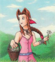 Aerith-My Promised Land by SapphireMoon714