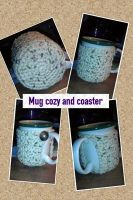 Mug cozy/coaster by Luineannon