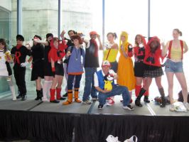 Fanime: Trainer gathering by Kara-tails