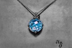 Aquamarine Necklace by Anubhavg